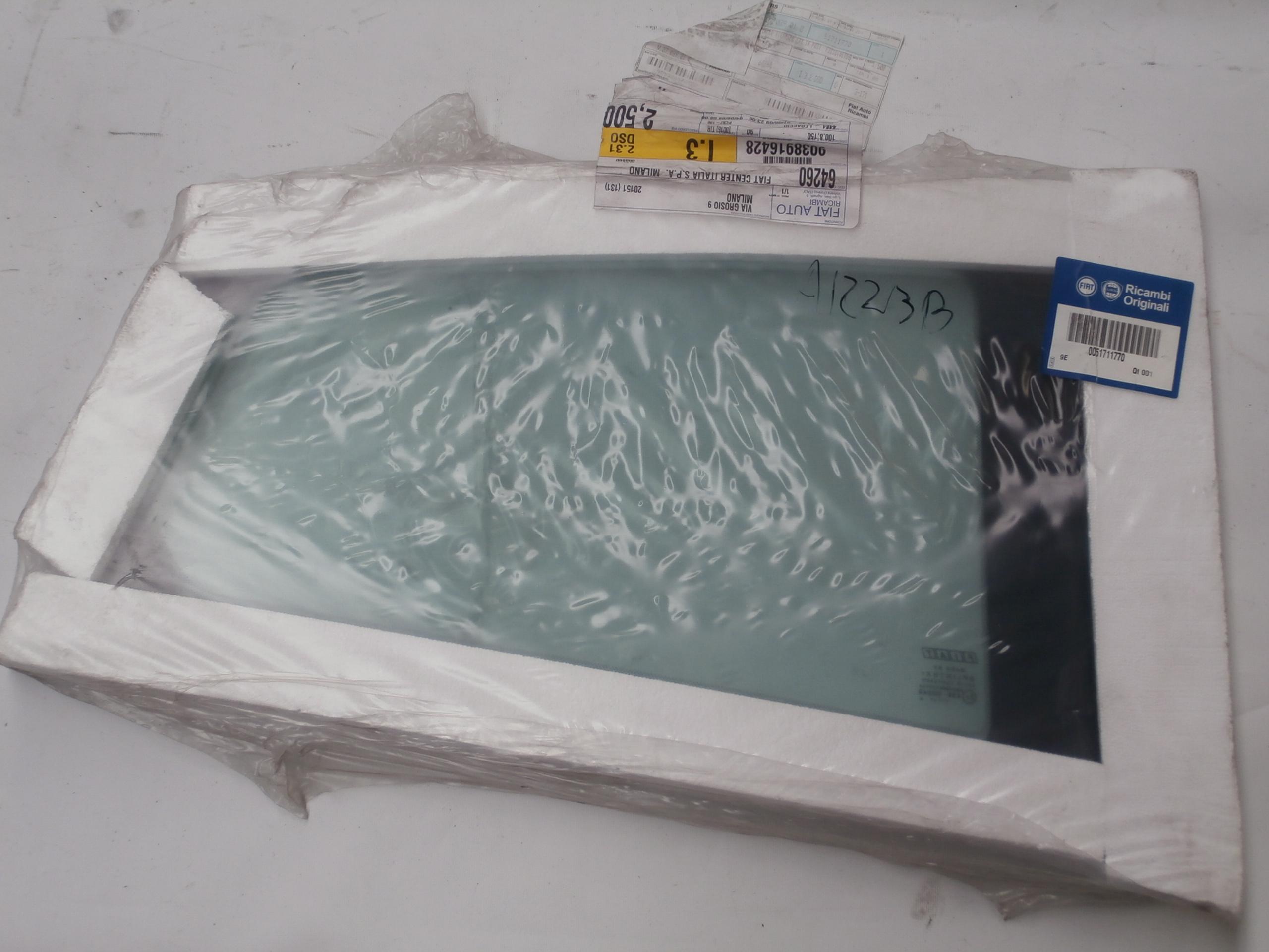 51711770 arri re en verre athermique fixe gauche pour fiat grande punto evo ebay. Black Bedroom Furniture Sets. Home Design Ideas