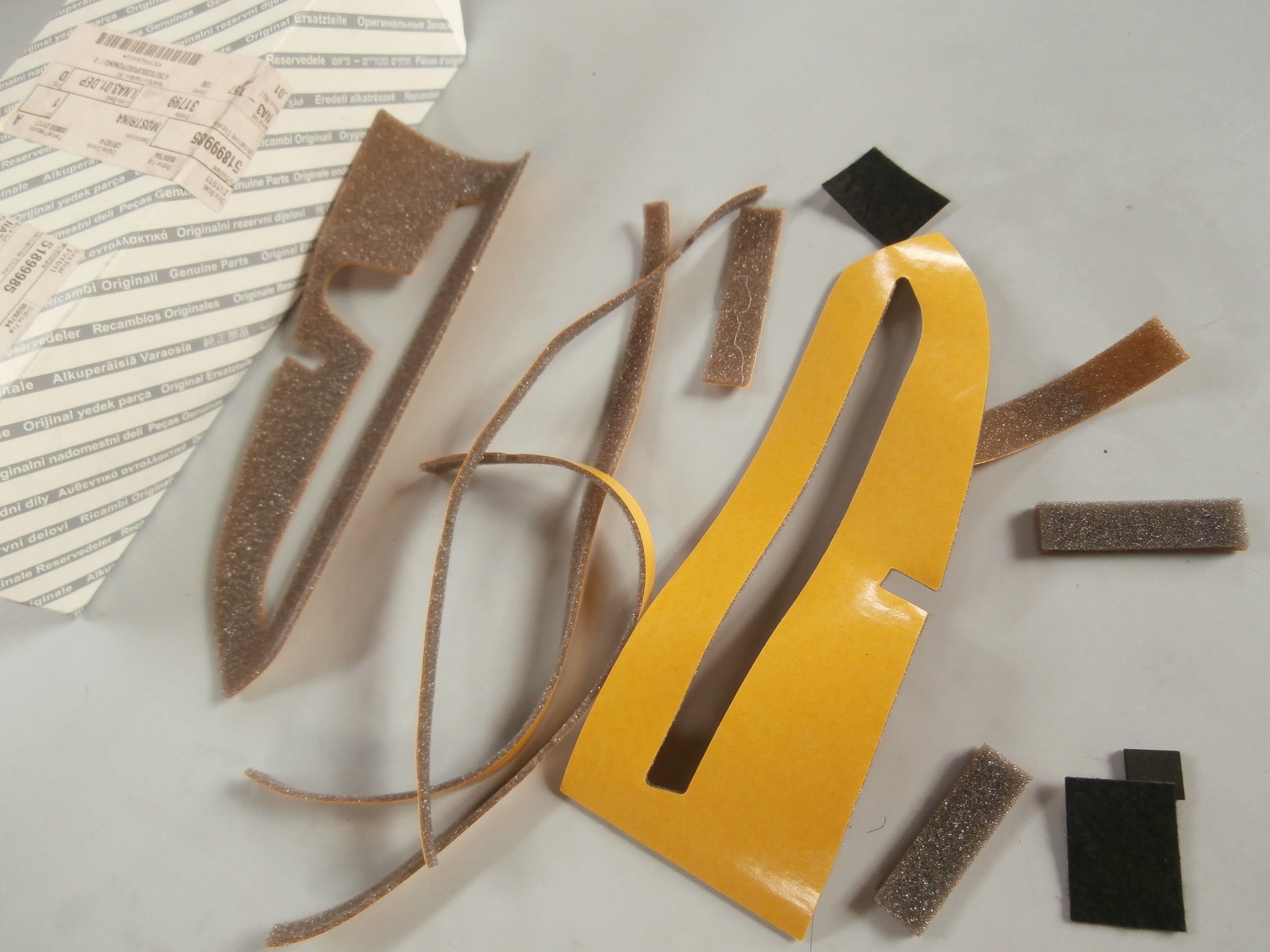 51899985 dashboard trim lancia ypsilon ebay. Black Bedroom Furniture Sets. Home Design Ideas