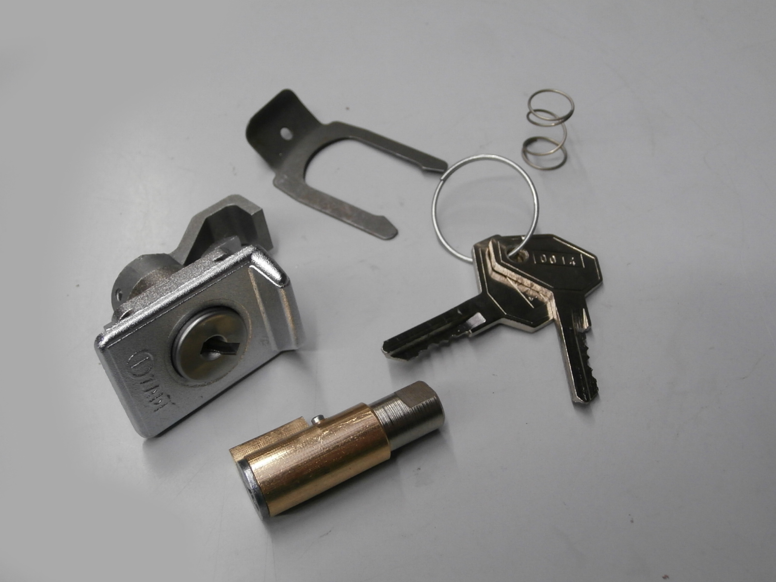 5654 kit pair lock with lock top box for vespa px 125 50125 ebay. Black Bedroom Furniture Sets. Home Design Ideas